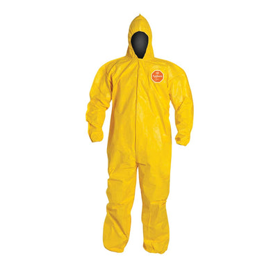 DuPont™ Tychem® 2000 Coverall, Bound Seams, Hooded