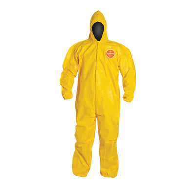 DuPont™ Tychem® 2000 Coverall, Serged Seams, Hooded