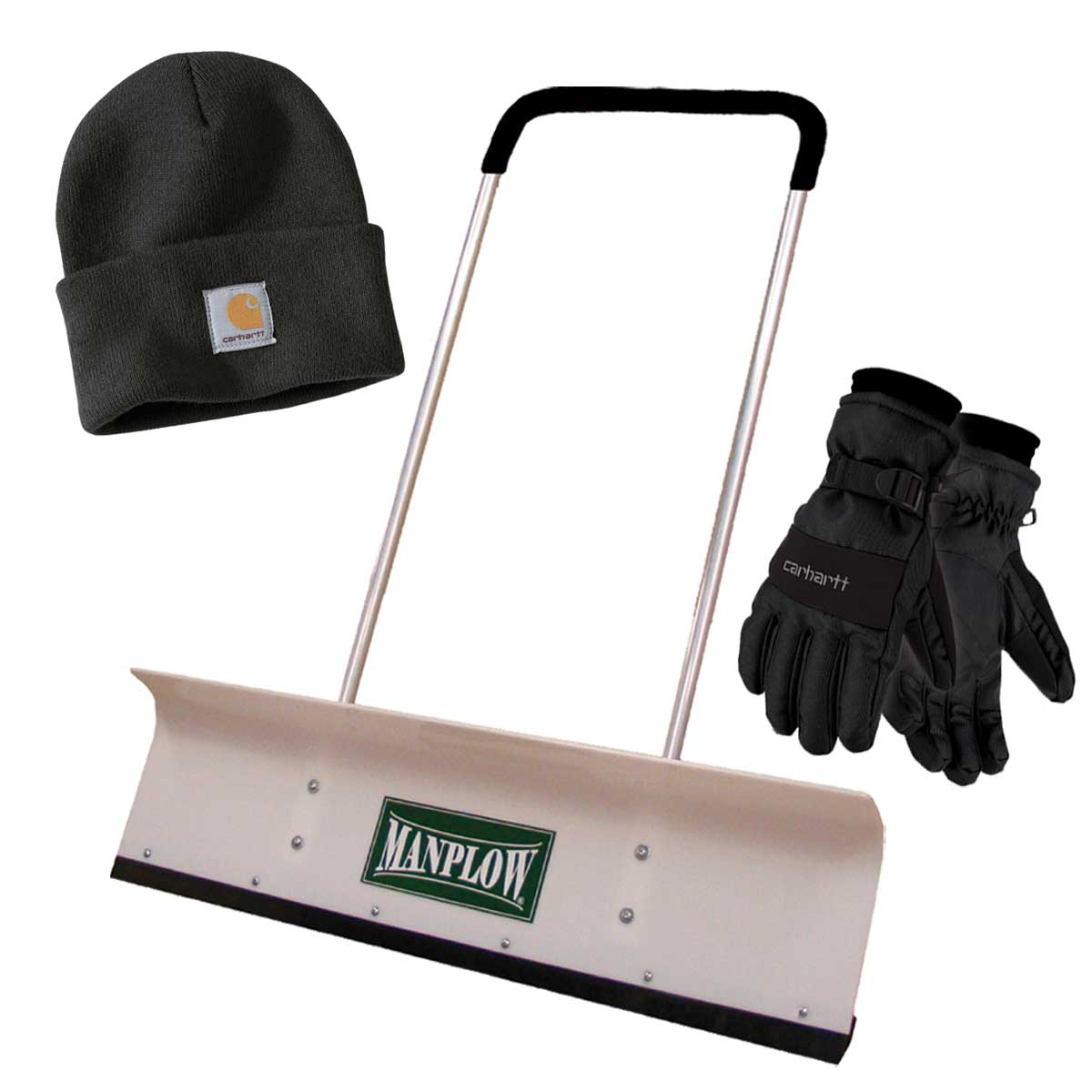 MANPLOW and Carhartt Hat-Glove Bundle