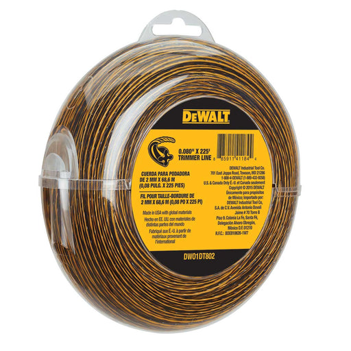 DEWALT .080 String Trimmer Line -- 225'