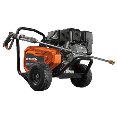 Generac 3800 PSI 3.2 GPM Belt Drive Power Washer