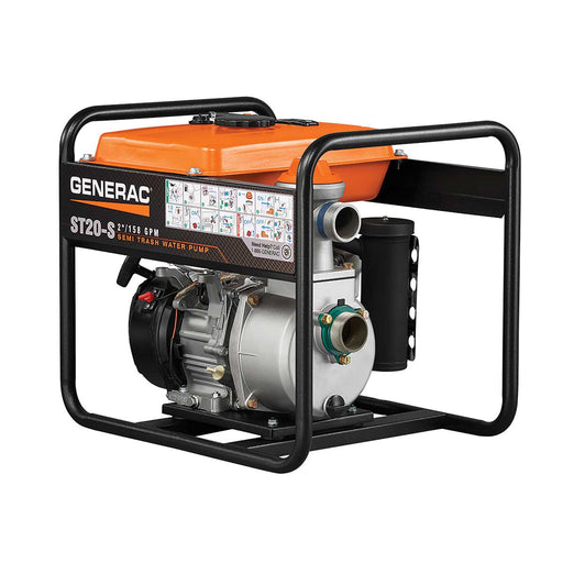 "Generac ST20-S 2"" Semi-Trash Water Pump"