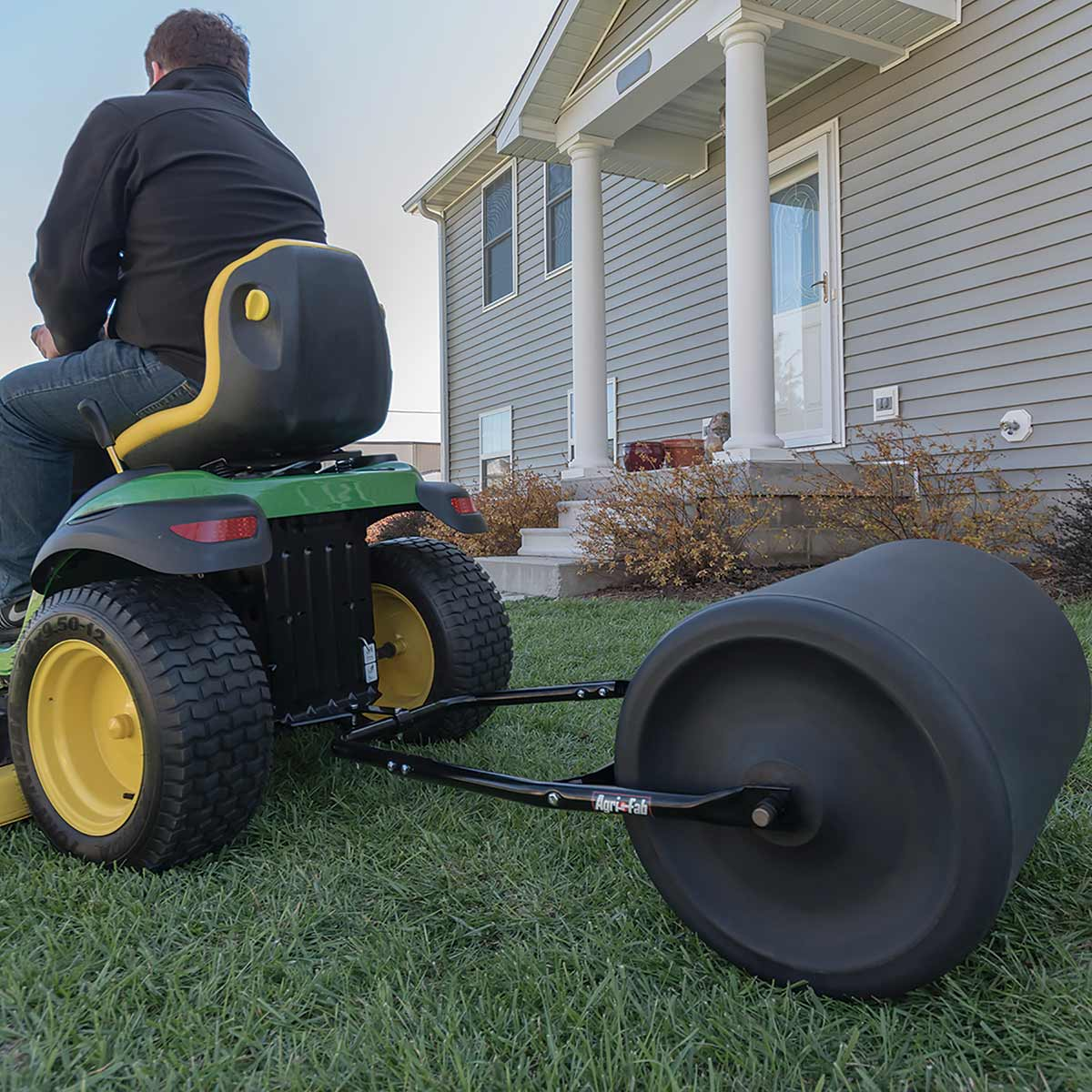 "Agri-Fab 18"" x 24"" Convertible Poly Roller"