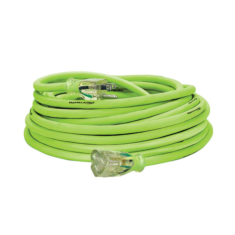 Flexzilla® 50' Outdoor Pro Extension Cord, 12/3 AWG SJTW