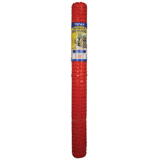 Tenax Griffin Plus Warning Barrier Fencing 4-ft x 100-ft
