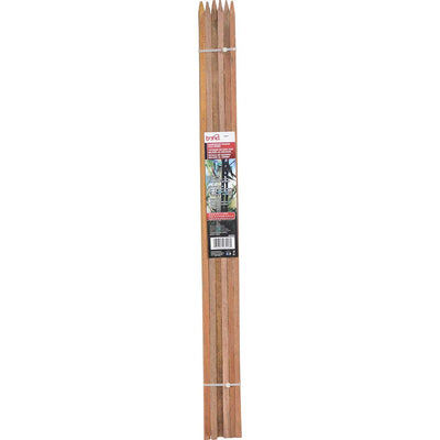 "Bond 6 pack of 3' x 1/2"" x 1/2"" Hardwood Stakes"