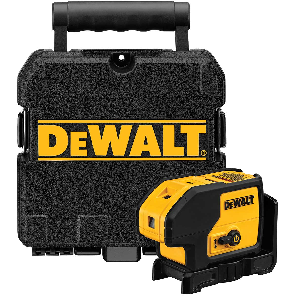 DeWalt Self Leveling Cordless 3 Point Laser