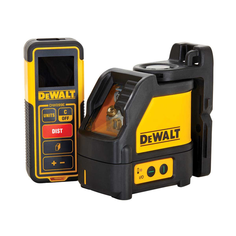 DeWalt Green Line Laser Level & 100 ft. Laser Distance Measurer