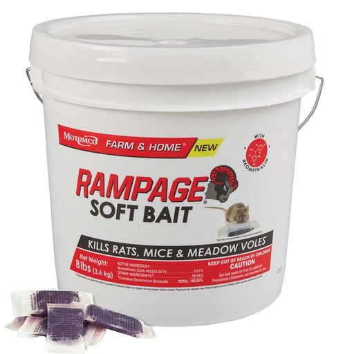 Rampage Soft Bait, 8 lbs