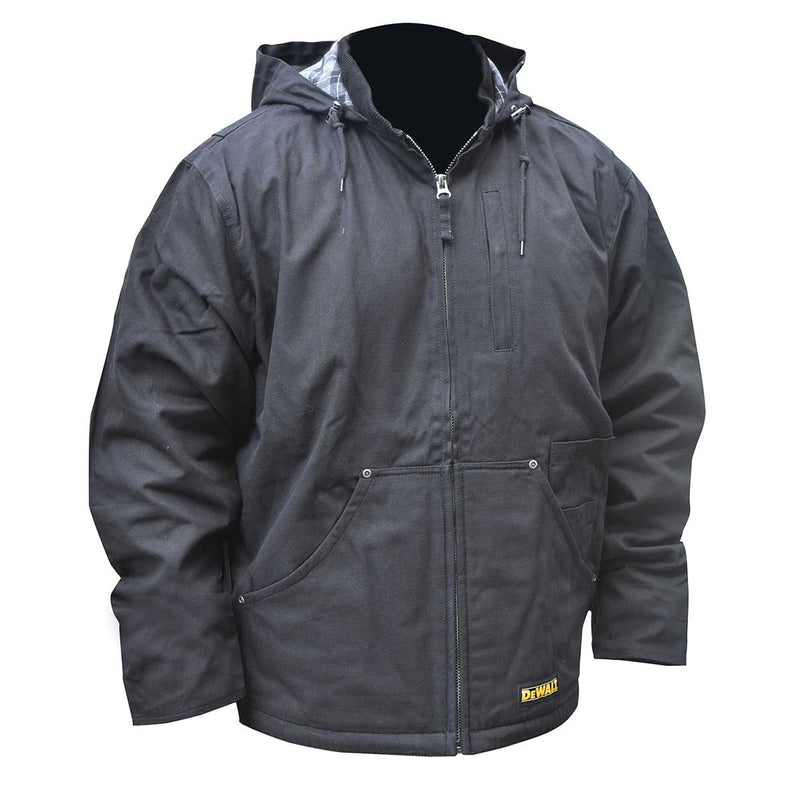DEWALT® Heated Heavy Duty Black Work Coat
