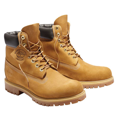 Timberland Tree Men's 6-Inch Premium Waterproof Wheat Boots