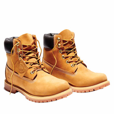 Timberland Tree Women's 6-Inch Premium Waterproof Wheat Boots