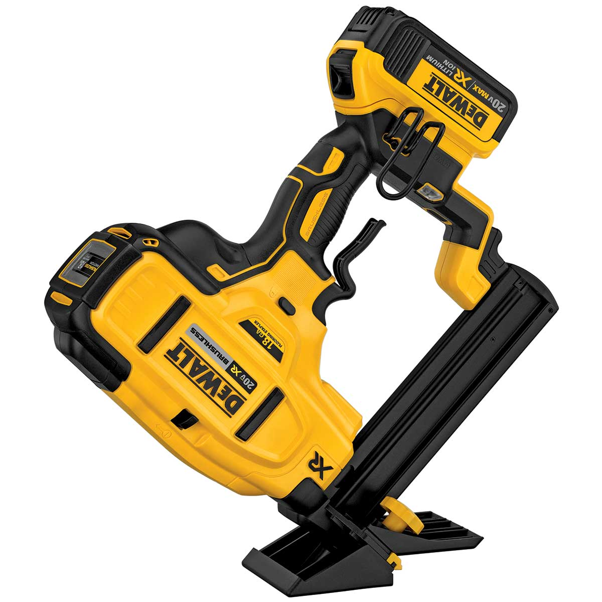 DeWalt 20V MAX* XR 18 Gauge Flooring Stapler Kit