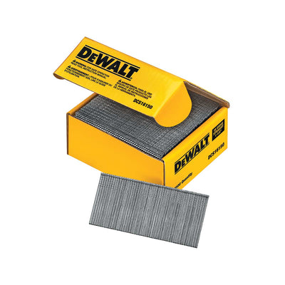 DEWALT 1-1/2 inch Straight 16 Gauge Finishing Nails 2500 Ct.