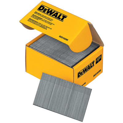 DEWALT 2 inch 16 Gauge Straight Finish Nails 2500 Ct.