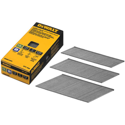 DEWALT Bright Angled DA Finish Nails Assortment