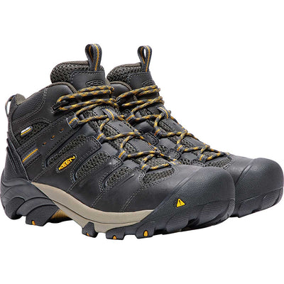Keen Men's Lansing Mid Steel Toe Hiker