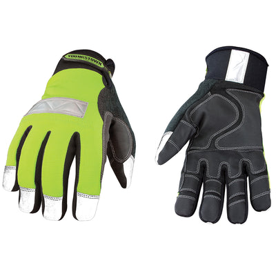 Youngstown Safety Lime Winter Gloves