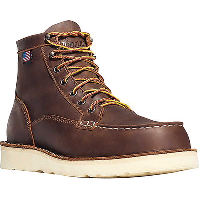 "Danner Men's Bull Run Moc Toe 6"" Steel Toe Boots"