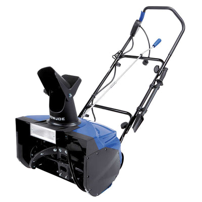 "Snow Joe 18"" Electric Single Stage Snow Thrower with 15 Amp Motor & Headlights"