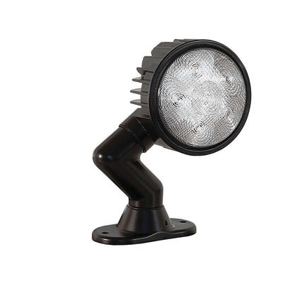"Buyers Products 5"" LED Clear Articulating Flood Light"