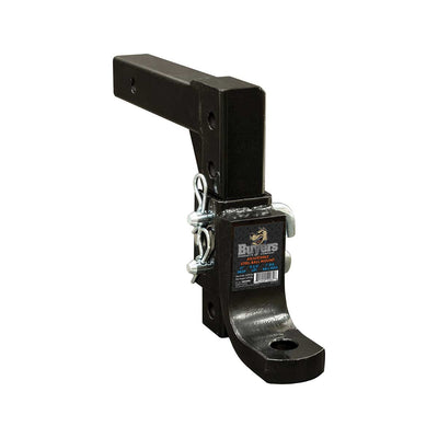 "Buyers Products 4-Position 2"" Solid Shank Adjustable Ball Mount"