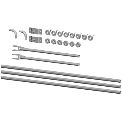 Buyers Products Universal Aluminum Tarp Arm Kit For 8-19' Dump Bodies
