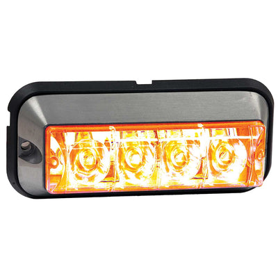 "Buyers Products Amber Raised 5"" LED Strobe Light"