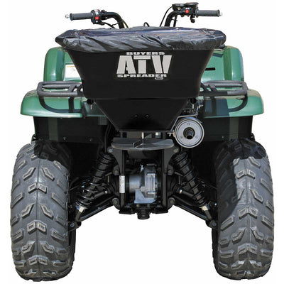 Buyers Products Horizontal Mount ATV Spreader, 100 Pound Capacity