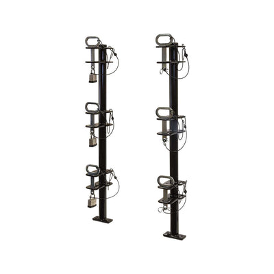 Buyers Products 3-Position Channel Style Lockable Trimmer Rack