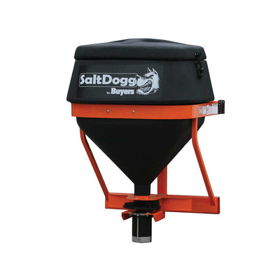 SaltDogg 8.0 Cubic Foot Black Poly Electric Tailgate Spreader