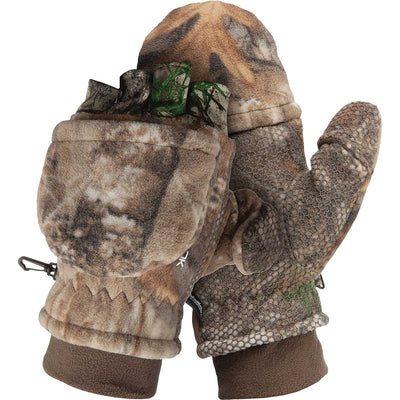 ScentLok Fleece Pop Top Gloves