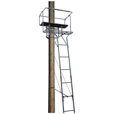 Big Dog Big Bud 15' Two Man Ladder Stand