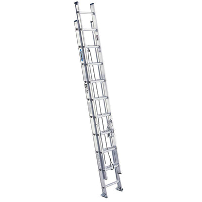 Werner Type IA Aluminum D-Rung Extension Ladder