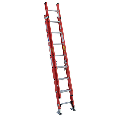 Werner Type IA Fiberglass D-Rung Extension Ladder