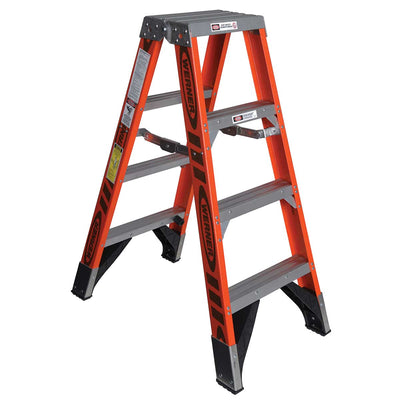 Werner Type IAA Fiberglass Twin Ladder