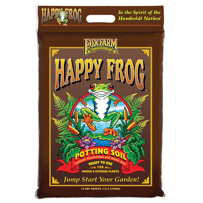 FoxFarm 12 qt Happy Frog Potting Soil