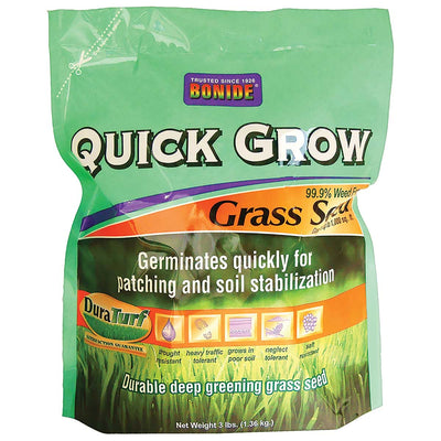 Bonide Quick Grow Grass Seed, 3 lbs