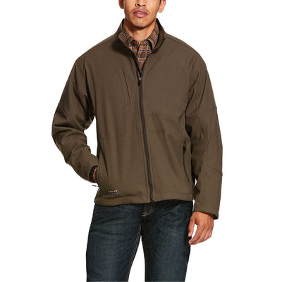 Ariat Men's Rebar Stretch Canvas Softshell Jacket