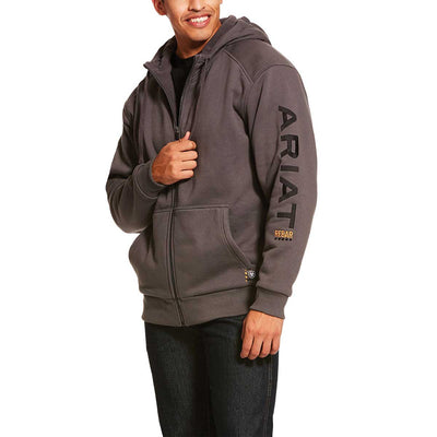 Ariat Men's Rebar All-Weather Full Zip Hoodie