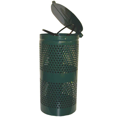 DOGIPOT® Steel Trash Receptacle with Lid