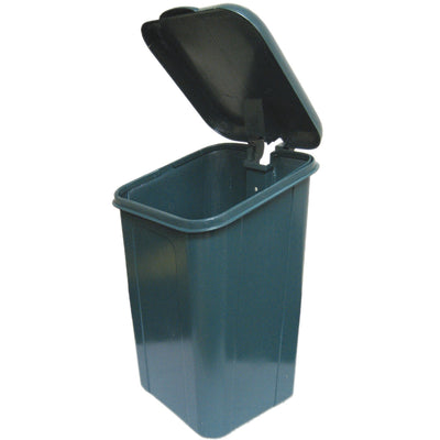 DOGIPOT® Poly Trash Receptacle with Lid