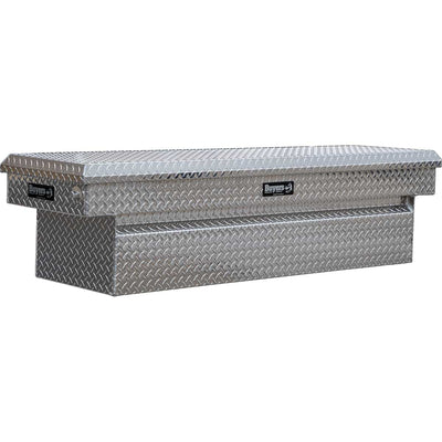 Diamond Tread Aluminum Crossover Truck Tool Box