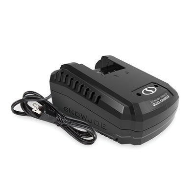 Snow Joe 24VCHRG-QC iON+ Quick Charge Dock for iBAT24 and 24VBAT Series Batteries
