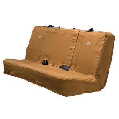 Carhartt®Universal Fitted Nylon Duck Full-Size Bench Seat Cover