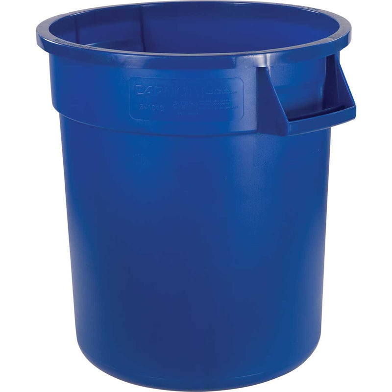10-Gallon Bronco Round Trash Can,  Pack of 6