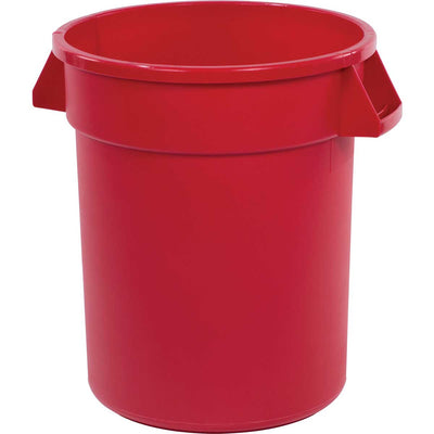 20-Gallon Bronco Round Trash Can, Pack of 6