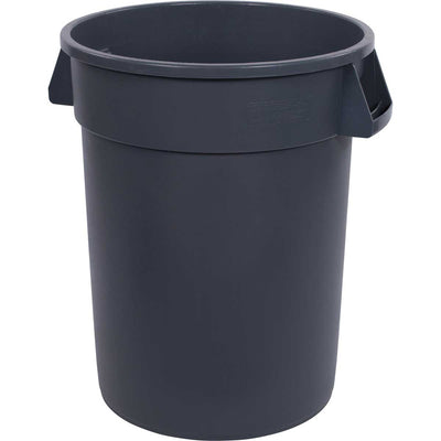 32-Gallon Bronco Round Trash Can, Pack of 4