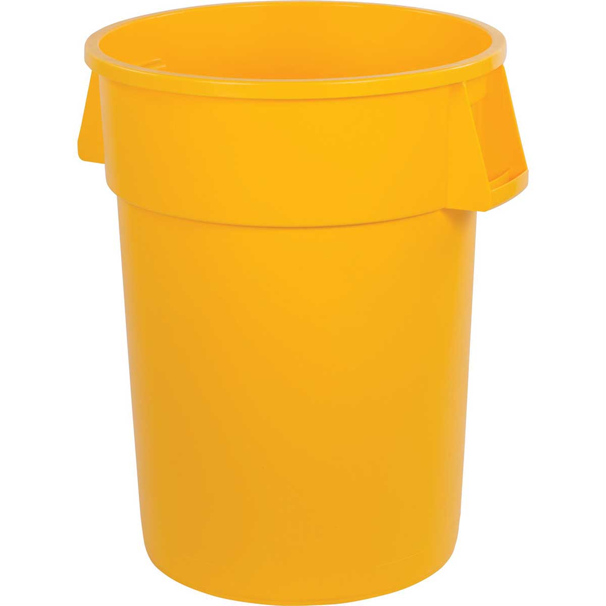 44-Gallon Bronco Round Trash Can, Pack of 3