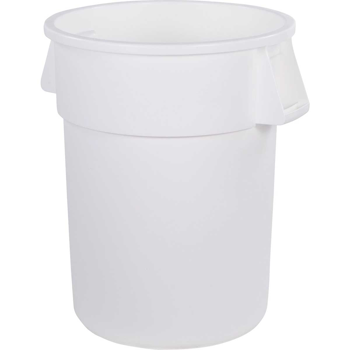 55-Gallon Bronco Round Trash Can, Pack of 2